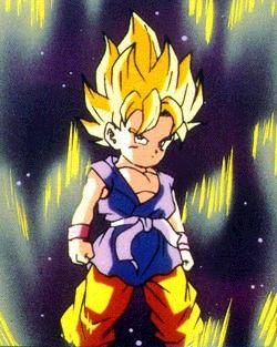 Goten as Super Saiyan