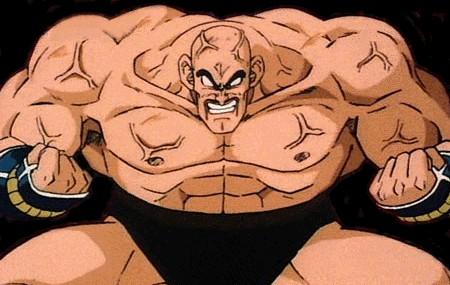 Heavily muscled Nappa!
